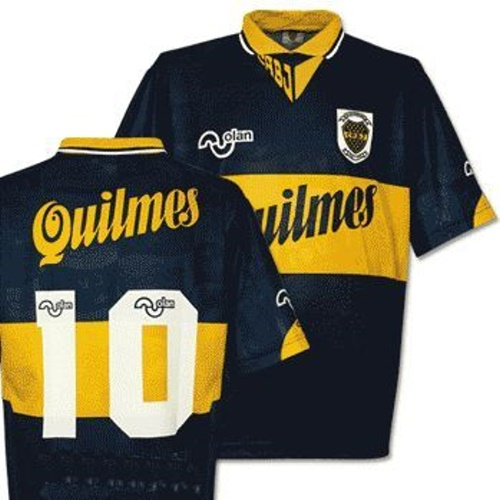 best service 1e465 b3281 Boca Juniors Shirts: 1995 home football shirt picture.