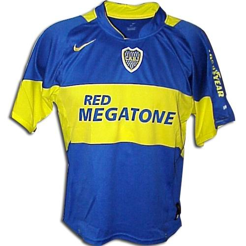 Boca Juniors Football Shirt Boca Juniors Shirts 2006 Home