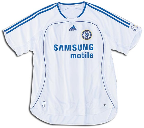 online store cebda 51427 Chelsea Shirts: 2007 away football shirt picture.