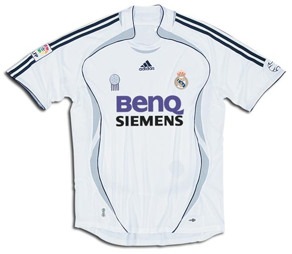 cheap for discount cac6d 9fae2 Real Madrid Shirts: 2007 home football shirt picture.