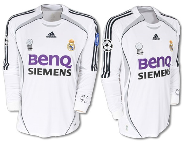 af5146c3 Real Madrid Shirts: 2007 home long sleeve football shirt picture.