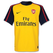Arsenal away 2008-2009 football Shirt