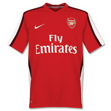 Arsenal home 2008-2009 football Shirt