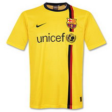 d47317da570 FC Barcelona away 2008-2009 football Shirt