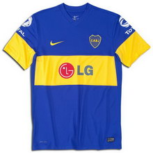 Boca Juniors home 2011-2012 football Shirt