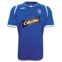 Rangers home 2008-2009 football Shirt