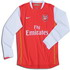 Arsenal 2007 2007 home Shirt, long sleeve